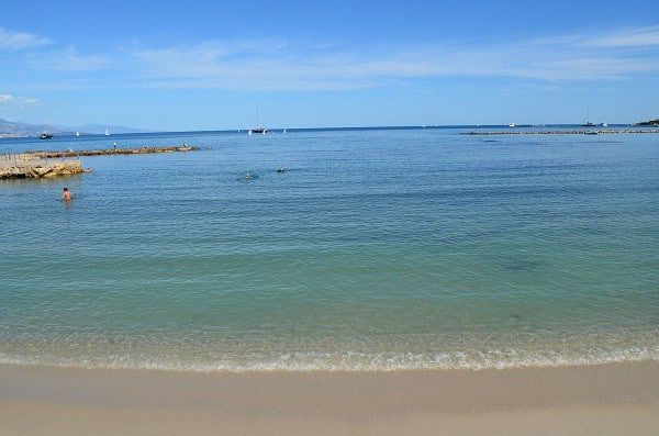 Ferieaktiviteter ved Nice, Antibes Beach 40 minutter fra Villa Romarine