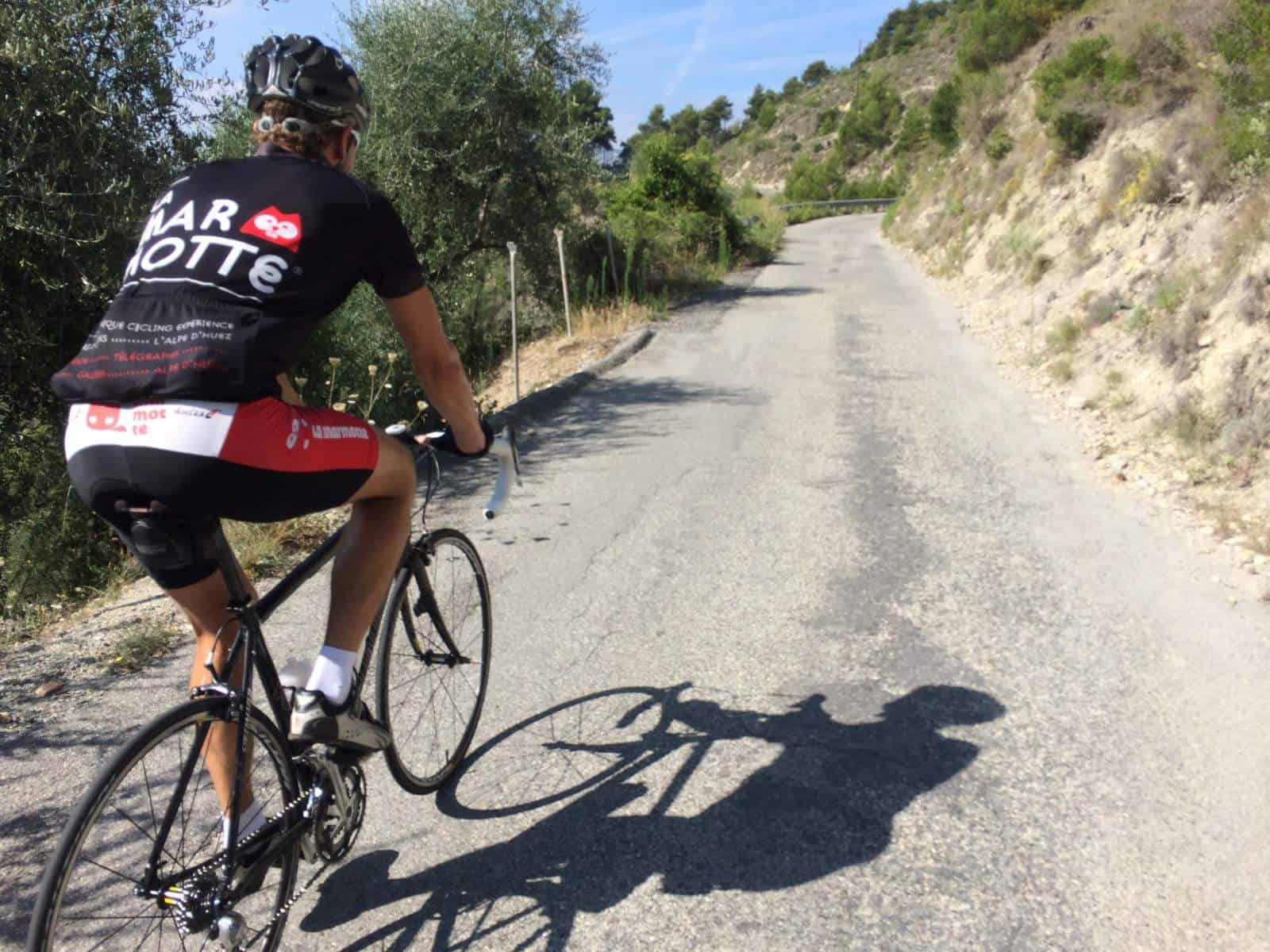 Cykelruter provence, Villa Romarine, Sydfrankrig
