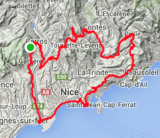 aktiv forlænget weekend i Nice Sydfrankrig